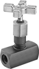 Precision Flow-Adjustment Inline Hydraulic Valves