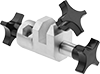 Adjustable-Angle Clamps for Small-Batch Mixers
