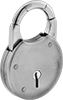 Breakable-Shackle Padlocks
