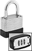 Resettable Combination Padlocks