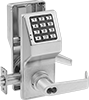 Battery-Powered Keypad Combination Door Handles with Key Option