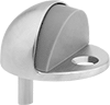 Half-Dome Floor-Mount Door Stops