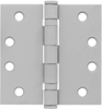 Mortise-Mount Entry Door Template Hinges with Bearings