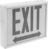 Backlit Exit Signs