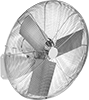 Washdown Wall-Mount Fans