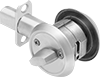 Turnpiece- and Key-Locking Deadbolt Door Locks