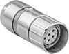 Siemens-Compatible Servomotor M23 Connectors