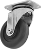 Nonmarking High-Temperature Casters with Nylon Wheels