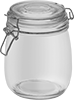 Glass Jars with Latching Lids