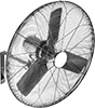 Economy Wall-Mount Fans