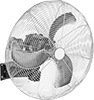 Hazardous Location Wall-Mount Fans