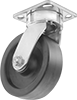 High-Capacity High-Temperature Corrosion-Resistant Casters with Nylon Wheels