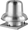 Belt-Drive Downdraft Roof-Mount Exhaust Fans