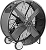 Belt-Drive Mobile Floor Fans