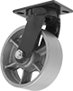 Extra-High-Capacity Compact Alliance Casters with Metal Wheels