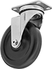 Cart-King Casters with Rubber Wheels
