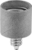 Medium Screw-In Socket Adapters for Candelabra Screw-In Sockets