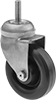Corrosion-Resistant Threaded-Stem Casters with Polypropylene Wheels