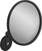 Shatter-Resistant Convex Safety Mirrors with Fixed Arm