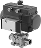 Actuated On/Off Valves