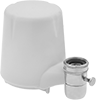 Faucet-Mount Plastic Filter Housings with Cartridge for Drinking Water