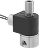 Compact Threaded Solenoid Diverting Valves