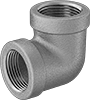 Medium-Pressure Stainless Steel Threaded Pipe Fittings