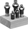 Vibration-Resistant Through-Hole Countersink Sets with Pilot for Screws
