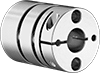 Servomotor Precision Flexible Shaft Couplings