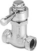 Self-Closing Valves for Plumbing Fixtures