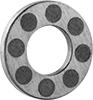 High-Temperature Dry-Running Thrust Bearings