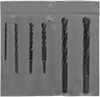 Round-Shank Masonry Drill Bit Sets for Rotary Hammers