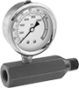Pressure Gauges for Hydraulic Jacks