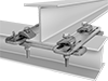 Perpendicular Beam-to-Beam Clamps