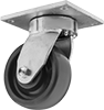 High-Capacity Vulcan Casters with Polyurethane Wheels