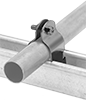 Strut-Mount Metal Routing Clamps
