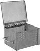 Extra-Rigid Stainless Steel Rectangular Enclosed Parts Baskets