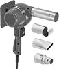 Heat Guns with Adjustable Stand and Nozzle Sets