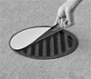 Magnetic Spill-Control Drain Covers