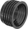 Cast Iron-to-PVC Pipe Adapters for Drain, Waste, and Vent