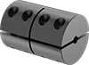 Machinable-Bore Two-Piece Shaft Couplings