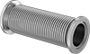 High-Vacuum Hose with Claw-Clamp Fittings