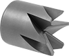 Outside Chamfer End Mills for Pipes, Tubes, and Rods