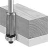 Flush-Trimming Router Bits