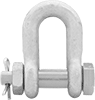 Safety-Pin Chain Shackles—For Lifting