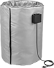 Insulating Wrap-Around Heaters for Pails, Drums, and Totes