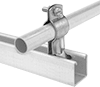 Standoff Strut-Mount Metal Routing Clamps