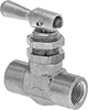 Fast-Acting Panel-Mount Threaded On/Off Valves