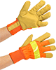 Cold-Protection High-Visibility Gloves