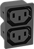 Multi-Outlet IEC Connectors
